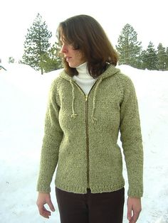 252 Bulky Neck Down Cardigan for Women pattern by Diane Soucy. Easy Knitting  PatternsWeaving PatternsFree ... f2e3715a0
