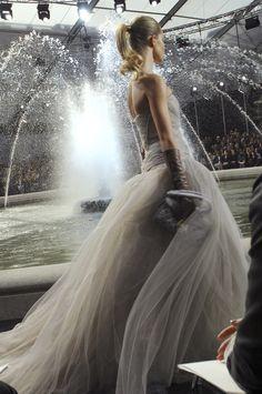 Rosie Huntington Whiteley at Louis Vuitton
