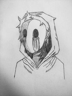 #sketch #selfportrait #drawing Creepy Drawings, Dark Art Drawings, Art Drawings Sketches Simple, Pencil Art Drawings, Cool Drawings, Horror Drawing, Horror Art, Drawing Drawing, Drawing Ideas