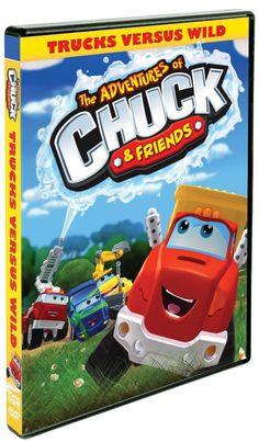 The Adventures of Chuck & Friends: Trucks Verses Wild DVD