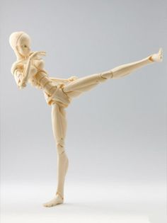 New super-poseable manikin for manga/anime artists who needed something more expressive!
