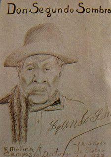 En San Antonio de Areco, Molina Campos conoció y dibujó al paisano que inspiró la novela de Ricardo Guiraldes. El hombre contaba entonces 82 años (1933) murió poco después.  http://www.desvandebuenosaires.net/humor-patoruzu/florencio-molina-campos/