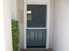 Luxury Dutch Entry Door with Screen