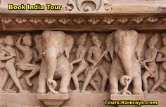 Tourist Attraction India: Best of Khajuraho Temple India