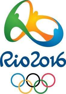 Rio 2016 Olympics Logo. Add Around The Rings on www.Twitter.com/AroundTheRings…