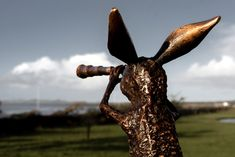 Brown Inquisitive Hare (Bronze)   Kilbaha Gallery   Ireland's Contemporary Art Gallery   Loop Head Volvo Ocean Race, Outside World, Hare, Contemporary Artists, Make You Smile, Ireland, Art Gallery, Art Pieces, Bronze