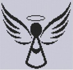 Angel 3 Cross Stitch Pattern | Craftsy