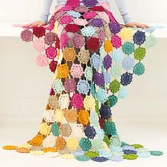 Lion Brand 24 7 Cotton Garden State Afghan Project