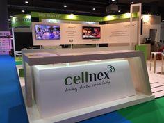 Stand para Cellnex Telecom en el BIT Broadcast