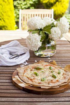 Tarjeta d embarque: Pizza integral de espelta con masa madre