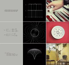 This lovely video short from Yann Pineill and Nicolas Lefaucheux of Paris video production agency Parachutes succinctly demonstrates the underlying mathematics behind everyday occurrences in the format of a triptych. On the left we see the mathematical equation, in the middle a mathematical mode