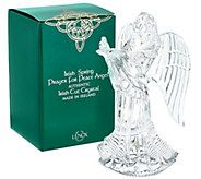 Lenox 8 Irish Cut Crystal Angel Figurine with Gift Box - H205546