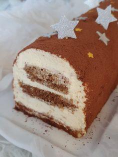Mini Oreo Cheesecake, Pumpkin Cheesecake Recipes, Christmas Cheesecake, Easy Cake Recipes, Dessert Recipes, Cheesecake Cupcakes, Buche Facon Tiramisu, Tiramisu Cake, Christmas Desserts Easy