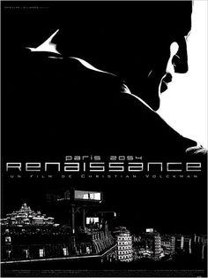 Renaissance : affiche Christian Volckman - 2006