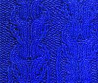 Вязание спицами объемный узор №3752 схема