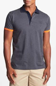efaea1ecfc0 Paul & Shark Classic Fit Polo available at #Nordstrom Polo Masculina,  Shark Man