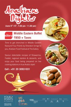 Food festival of the middle east