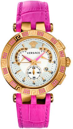 Versace V-Race Chrono Collection 23C811D002 S111 Women s Quartz Watch 귀여운  시계, 여자 시계 d8cb31ac8ce