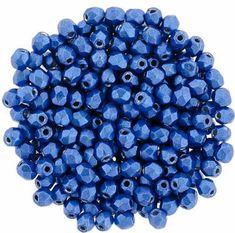 *** CLEARANCE *** Czech Glass Druk Beads Light Aqua Blue 6mm 50 pieces