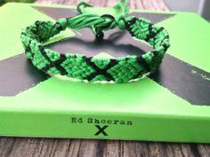 Ed Sheeran 'Multiply' Friendship Bracelet by WristsAre4Bracelets