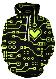 Hearty Lego Bricks 3d Gameboy Hoodies Multicolor Geometry Hoodie Men Women Vibrant Hoody Sweatshirt Funny Print Pullovers Tops Clothes Various Styles Men's Clothing