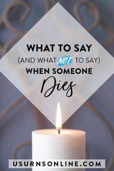 What to say to your grieving friend when they lose a loved one: 10 things to say, 10 things NOT to say, plus examples of comforting quotes and condolences for various situations. #condolences #memorials #sympathy #grief Condolence Letter, Condolence Messages, Condolences, Writing A Sympathy Card, Sympathy Gifts, Funeral Memorial, Memorial Urns, Funeral Etiquette, Grieving Friend