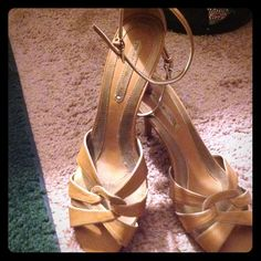 Bandalino Tan Sandal Tan color. Leather. New Without box. No trades. Shoes