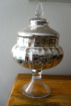 medium sized mercury apothecary Jar