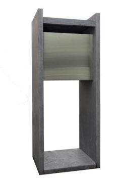 frabox edelstahl briefkasten santa fe exklusiv briefkasten edelstahl und shops. Black Bedroom Furniture Sets. Home Design Ideas