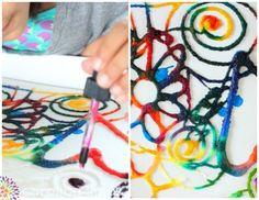 experimentos-para-niños-caseros-faciles-divertidos-colores Science Fair, Science For Kids, Art For Kids, Funny Science, Diy And Crafts, Crafts For Kids, Arts And Crafts, Art Crafts, Stem Projects