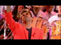 Queen & George Michael - Somebody to Love - (Live Wembley 1992) - HD - YouTube