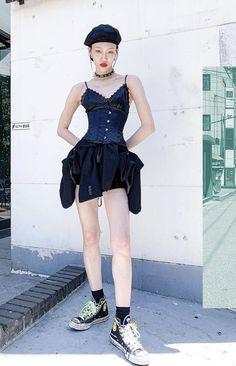 Sora Choi, Harajuku, Hipster, Punk, Model, Behavior, Style, Fashion, Behance