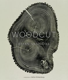 Woodcut by Bryan Nash Gill     Gill creates patterns not only of great beauty but also year-by-year records of the life and times of fallen or damaged logs. He rescues the wood from the property surrounding his studio and neighboring land, extracts and prepares blocks of various species (including ash, maple, oak, spruce, and willow), then makes prints by carefully following and pressing the contours of rings and ridge