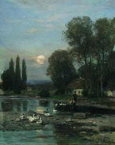 Landscape - Vladimir Orlovsky ~1890