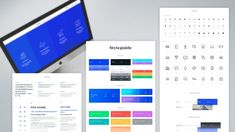 Design system for Porto Business School Design System, Font Styles, Piece Of Me, Business School, Art Director, Style Guides, Bar Chart, Icons, Creative