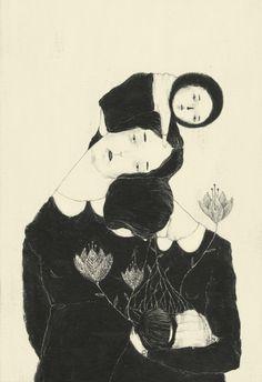 littlechien:  littlechien via supercata artisticmoods:  Monica Barengo