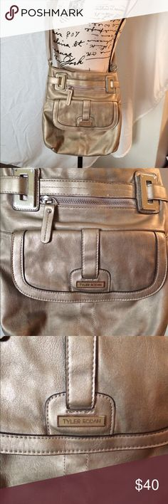 Tyler Rodan Berlin Cross-body purse Hard to find color! Great condition. Lots of storage as shown in pictures with zippers and magnetic snap closures. Product dimensions: 10 x 4 x 11 inches. Tyler Rodan Bags Crossbody Bags