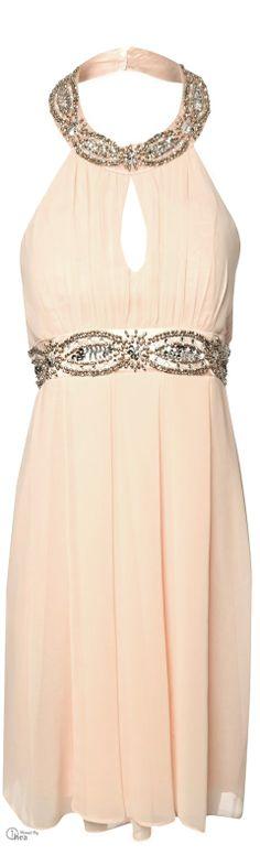 Jane Norman ● Embellished Halter Dress