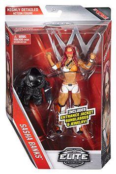 WWE Elite Sasha Banks Figure ** Details can be found at