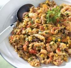 One of our favorite casseroles in South Louisiana is Cajun Cornbread Casserole. Cajun Cornbread Casserole is an excellent and versitile di. Crawfish Cornbread, Cornbread Casserole, Casserole Dishes, Casserole Recipes, Cornbread Stuffing, Cornbread Mix, Louisiana Seafood, Louisiana Recipes, Southern Recipes
