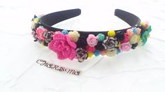 Handmade Multi  Coloured Head Band by CharismaJewellery on Etsy, €22.00