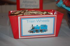 Thomas & Friends Birthday Party Ideas | Photo 10 of 22 | Catch My Party