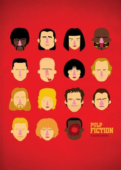 Pulp Fiction (My FAVORITE movie) by Olaf Cuadras