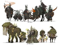 ArtStation - Carlyn Lim's submission on Ancient Civilizations: Lost & Found - Character Design