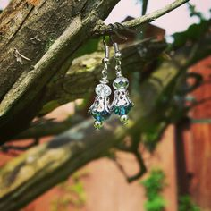 Hey, I found this really awesome Etsy listing at https://www.etsy.com/listing/233824587/blue-and-silver-swarovski-crystal