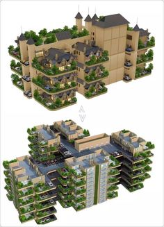 If there is a new building method, which can integrate villas, alley streets and courtyards together and move to the air to build as an air city, the housing will both realize the full function of the villa and the courtyard. Therefore, it won't occupy the place and can be built any place in the city center. How nice it will be!  This is the fourth generation of housing: courtyard, also known as the air city forest garden! Now, it's your time to struggle for the fourth generation of housing!