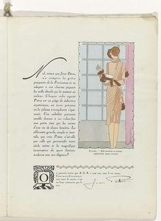 Art - Goût - Beauté, Feuillets de l' élégance féminine, Noël 1928, No. 100, 9e Année, p. 35, Anonymous, Jean Patou, Charles Goy, 1928