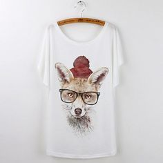 New Summer Animal T-Shirts For Women (Color: 538) | Save upto 40% with us |  Visit our website now  uniquefashionusa.com