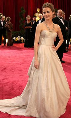 Oh, to have a reason to wear a gown like this one! plus i heart Keri Russell