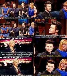 Chris Colfer | Hollywood Game Night <-- Him and Jane should have a sitcom that's just them, talking and living their lives.